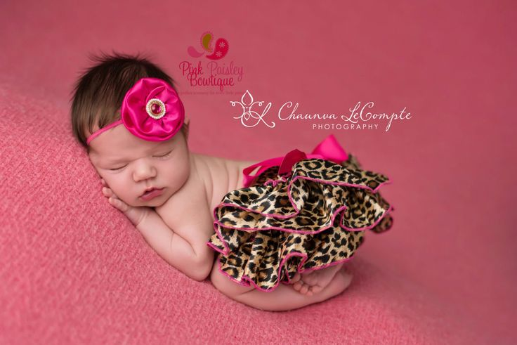 A personal favorite from my Etsy shop https://www.etsy.com/listing/228985646/newborn-photo-outfit-baby-bloomersNewborn photo outfit, baby bloomers, ruffle diaper cover, cheetah outfit, hot pink baby outfit, baby girl newborn photos, cake smash outfit