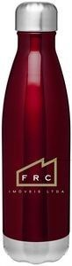 The Best. 17 oz double wall 18/8 stainless steel thermal bottle with copper vacuum insulation and threaded stainless steel lid. Available in a variety of colors - gotta love that red though!  Gorgeous. #corporate gifts #tradeshow giveaways