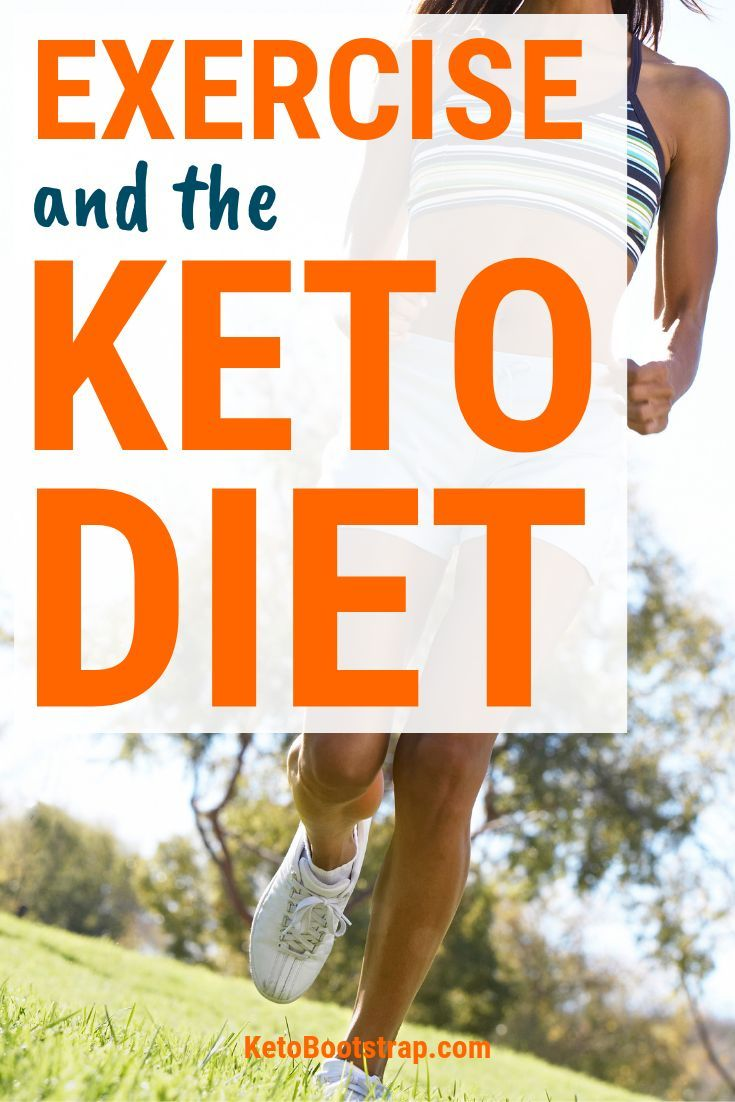 role of exercises while on keto diet