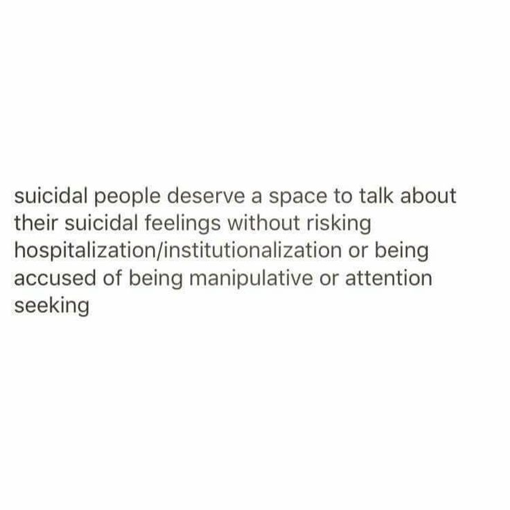 So true. When someone trusts you enough to share their thoughts of suicide or self harm they consider you part of their support system. Love them, accept them for who they are, Be strong for them, and do your best to be supportive in their recovery. It is hard to hear a loved one say these things but imagine how hard it was for them to come forward about it.