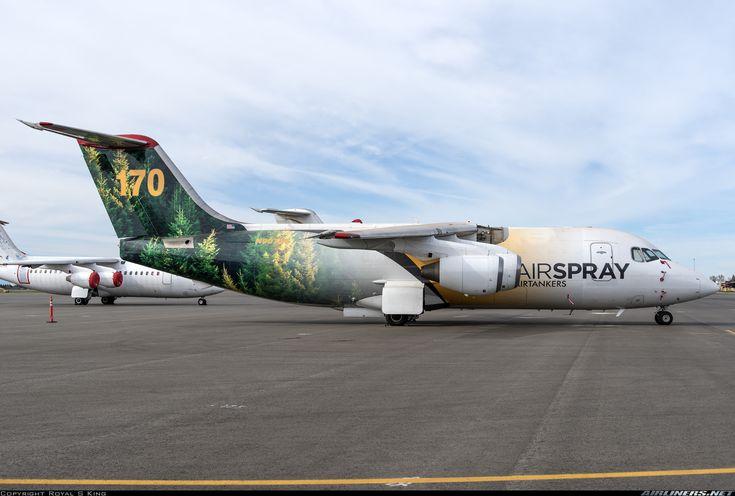 British Aerospace BAe-146-200 - Air Spray | Aviation Photo #4866125 | Airliners.net
