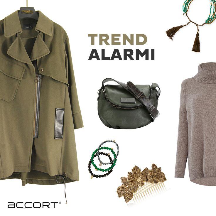 Sezonun trendi haki Yeşil #haki