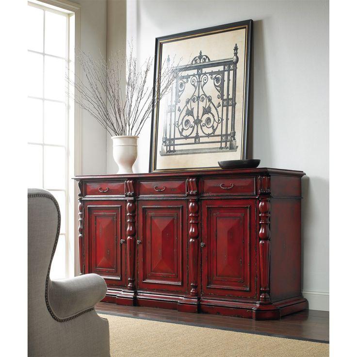 hooker furniture red credenza in - Credenza Furniture