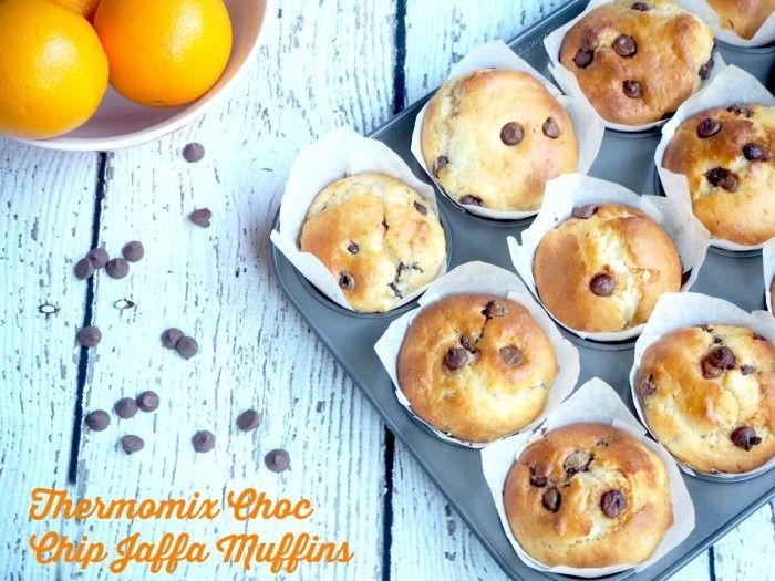 Thermomix Choc Chip Jaffa Muffins