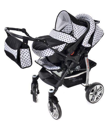El sistema de viaje 3 en 1 de Baby Sportive es un sistema ligero y práctico para los padres más exigentes. De diseño moderno y con un sistema de plega