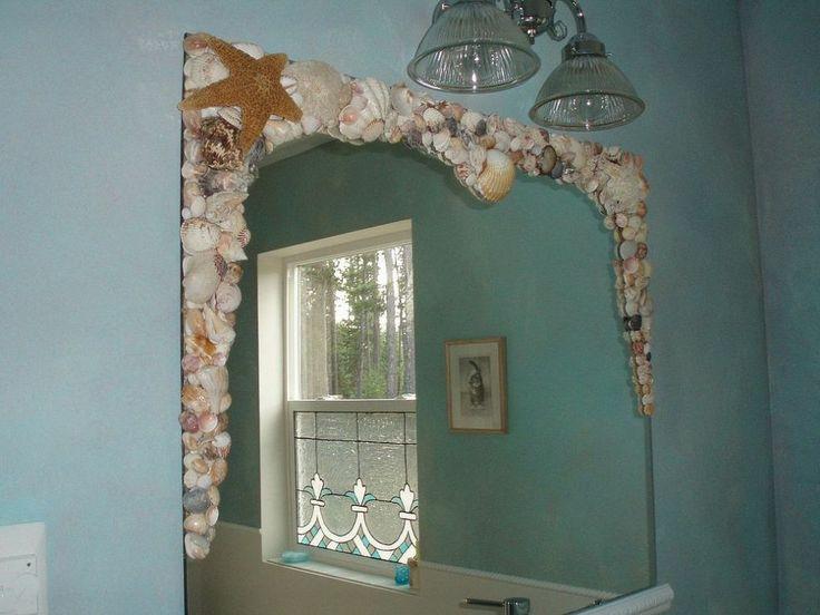 Bathroom mirror redo :: Hometalk
