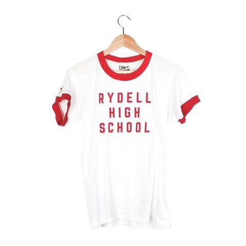 Rydell High Ringer Tee | Our classic retro ringer tee, inspired by non other than, Grease! Represent. #CampCollection www.shopcamp.com