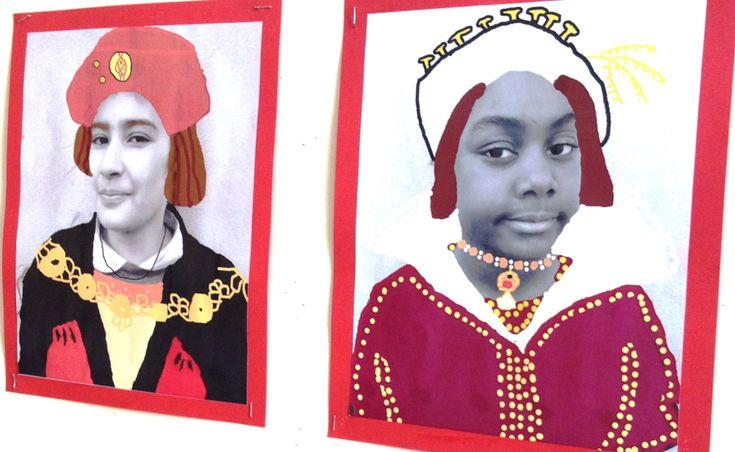 Tudor Royal Portraits KS2