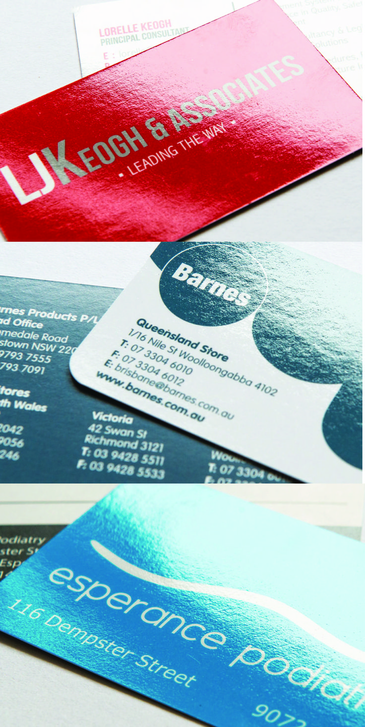 The Gloss Business Cards are the perfect choice for anyone looking to make a statement, so if you want to showcase your business in all its glory, this is the way to go! The vibrant shine feels just as good as it looks and will really make your card 'POP'.