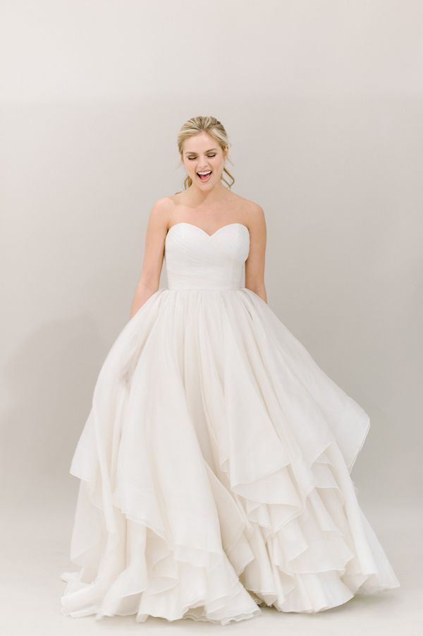 swishy ball gown by Heidi Elnora! | Divine Light Photography #wedding