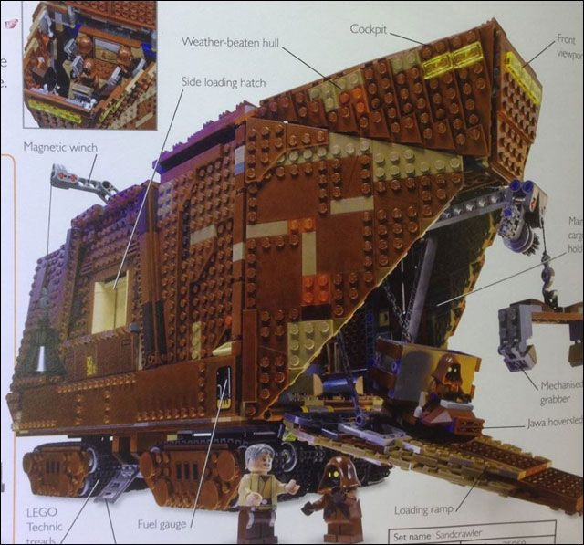 #LEGO #StarWars Sandcrawler Planned For 2014? http://www.toyhypeusa.com/2014/03/04/lego-star-wars-sandcrawler-planned-for-2014/