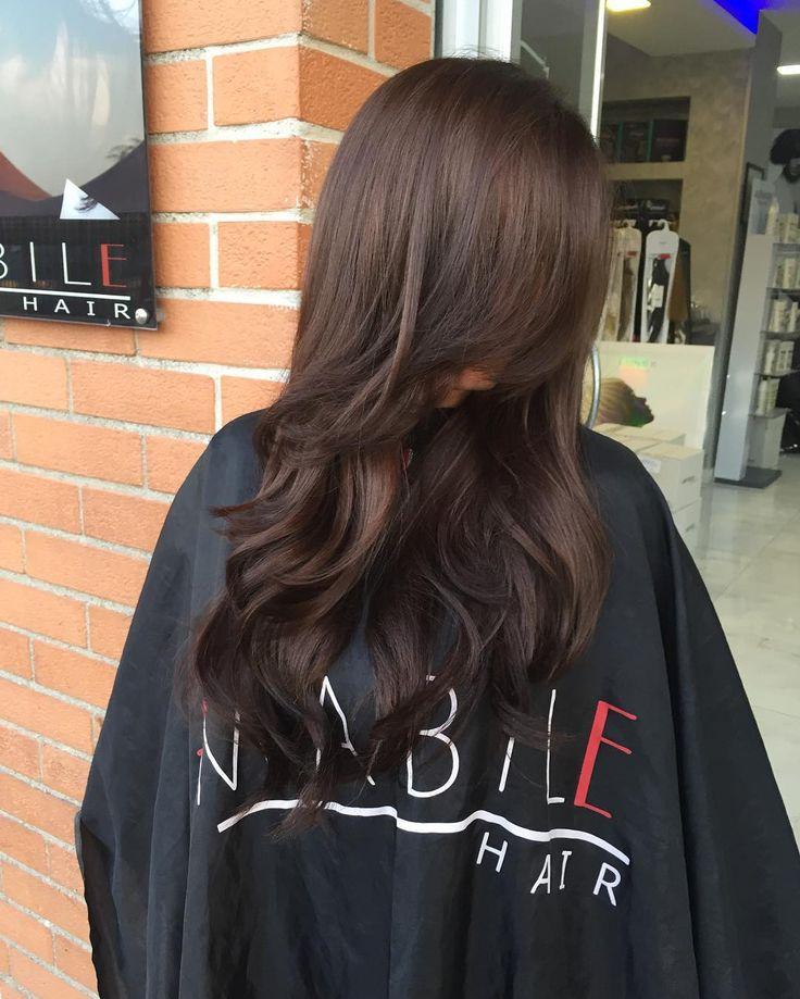 """Marrone freddo  intenso by amabile  Tieni a bada i riflessi rossi con il nostro shampoo """"hyaluronic sistem"""" con pigmenti  Antirosso-arancio - [x] #napoli #milano #torino #roma #bari #giugliano #villaricca #marano #mugnano #shatush #capelli #parrucchieri #neasy #voga #teatroposillipo #posillipo #hair #hairstyle #beauty #top #style #extension #hairextension #capri #procida #ischia #ammot"""