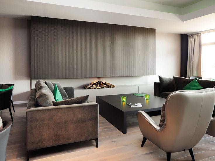 Brown interior коричневая гостиная