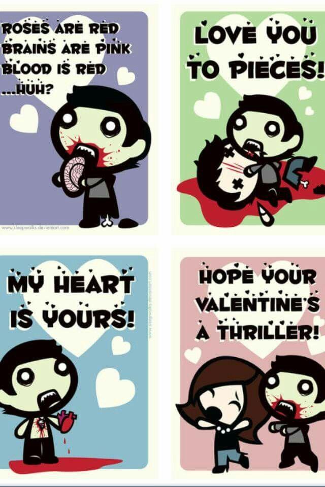Fishmuffins Of Doom: Zombie Valentines!
