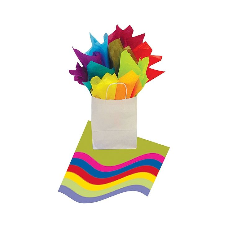 Tissue Paper is the essential item for any gift packaging! Available in a huge range of colours, styles and themes.
