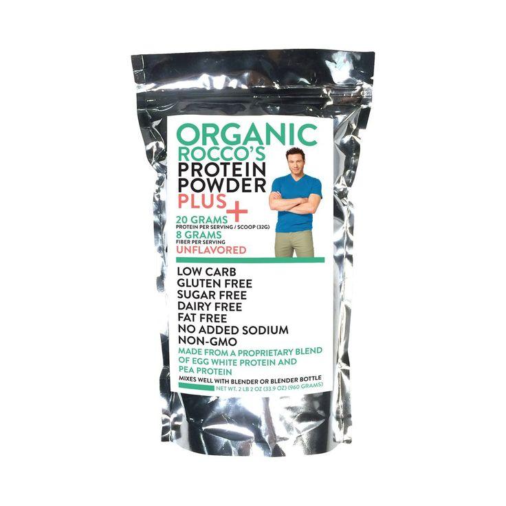 Rocco's Organic Protein Powder Plus