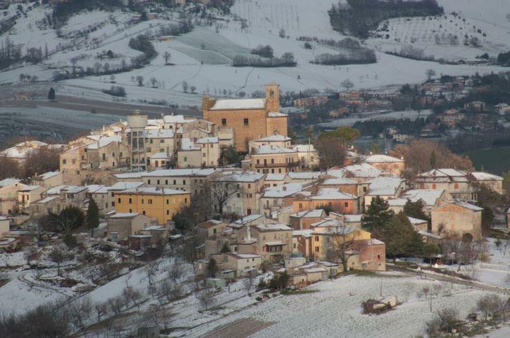 Collamato castle near Fabriano - Marche - Italy