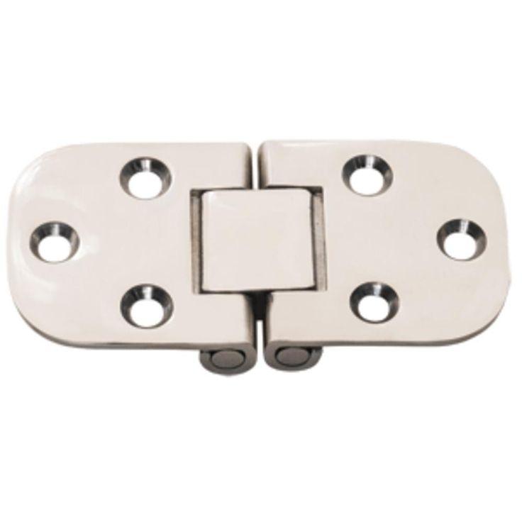 Whitecap Flush Mount 2-Pin Hinge - 304 Stainless Steel - 3 x 1-1-2