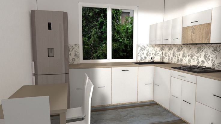 Kitchen #kitchen #kuchnia #home #interiordesign #graphic #art