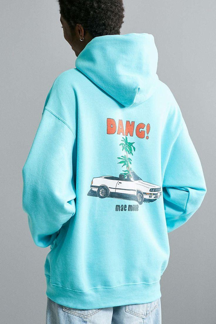 Mac Miller Dang! Hoodie Sweatshirt - Urban Outfitters