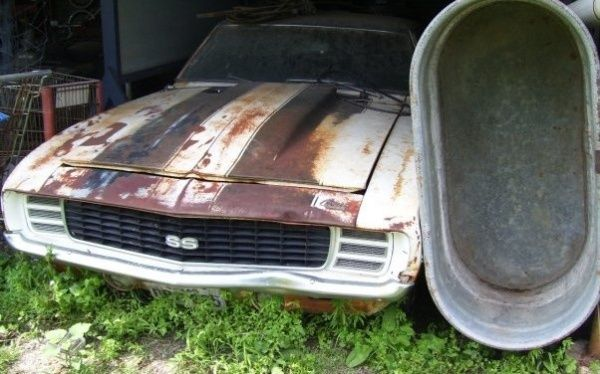 Find Car For Me: Left To Rot: 1969 Camaro SS/RS 396