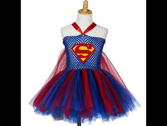 Tutu skirt ballerina toddler Unique Halloween girl baby costume Batman and Robin Tulle Skirt colorful skirt Superhero costume girls