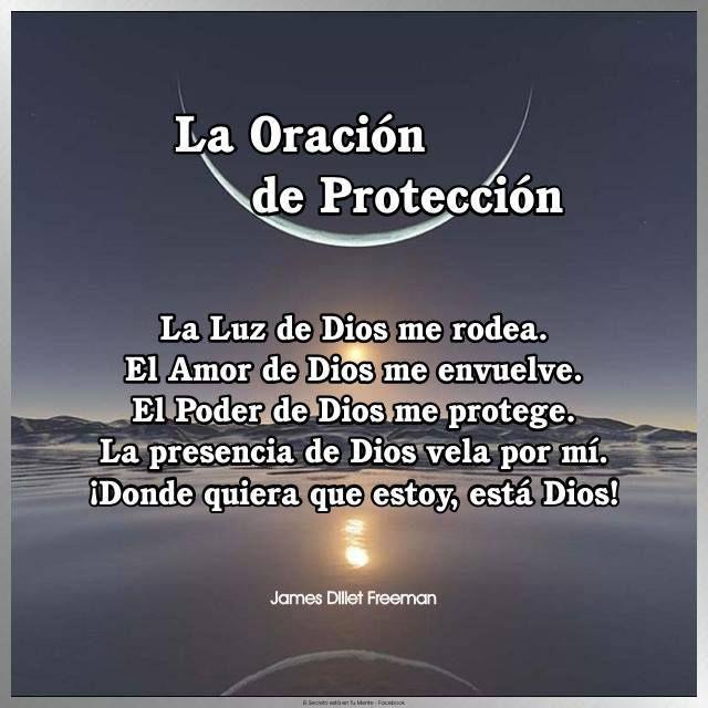 Oración protección
