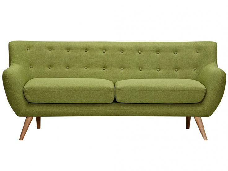 450,  3 Sitzer Sofa Stoff Serti   Grün günstig kaufen / Möbel