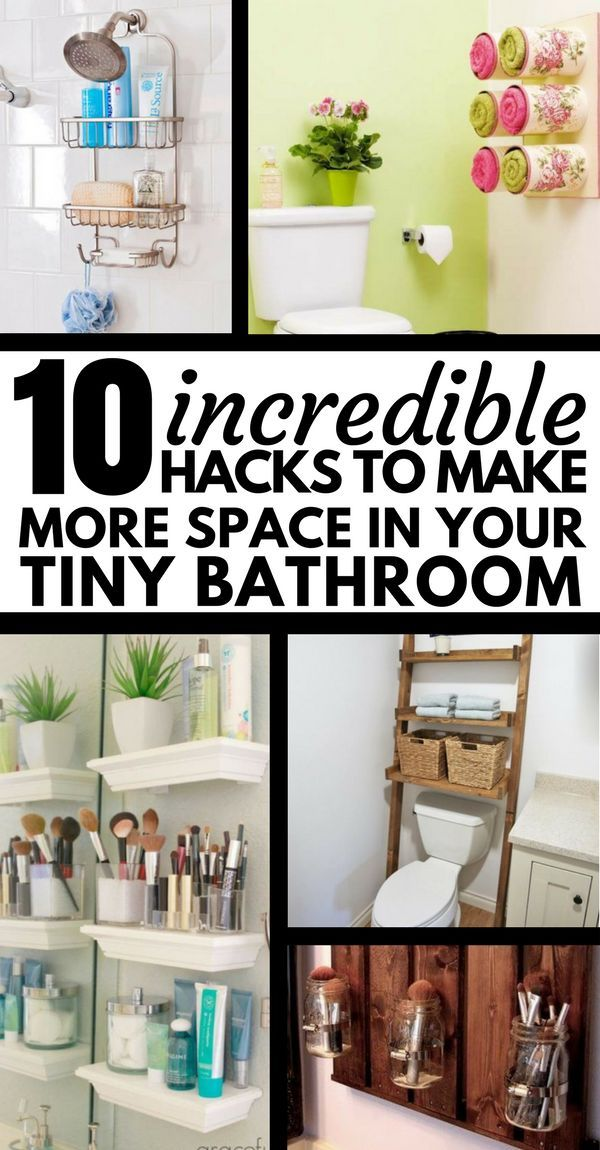 10 Amazing Organization Ideas For Tiny Bathroom Tiny Bathroom
