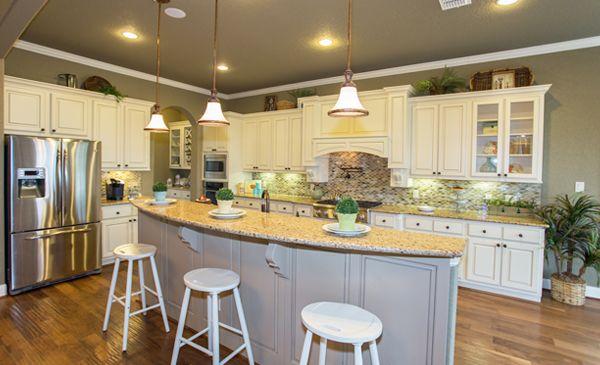 Village Builders San Antonio Sonoma Mesa kitchen