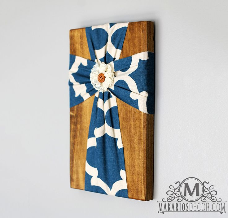 Fabric Wall Cross