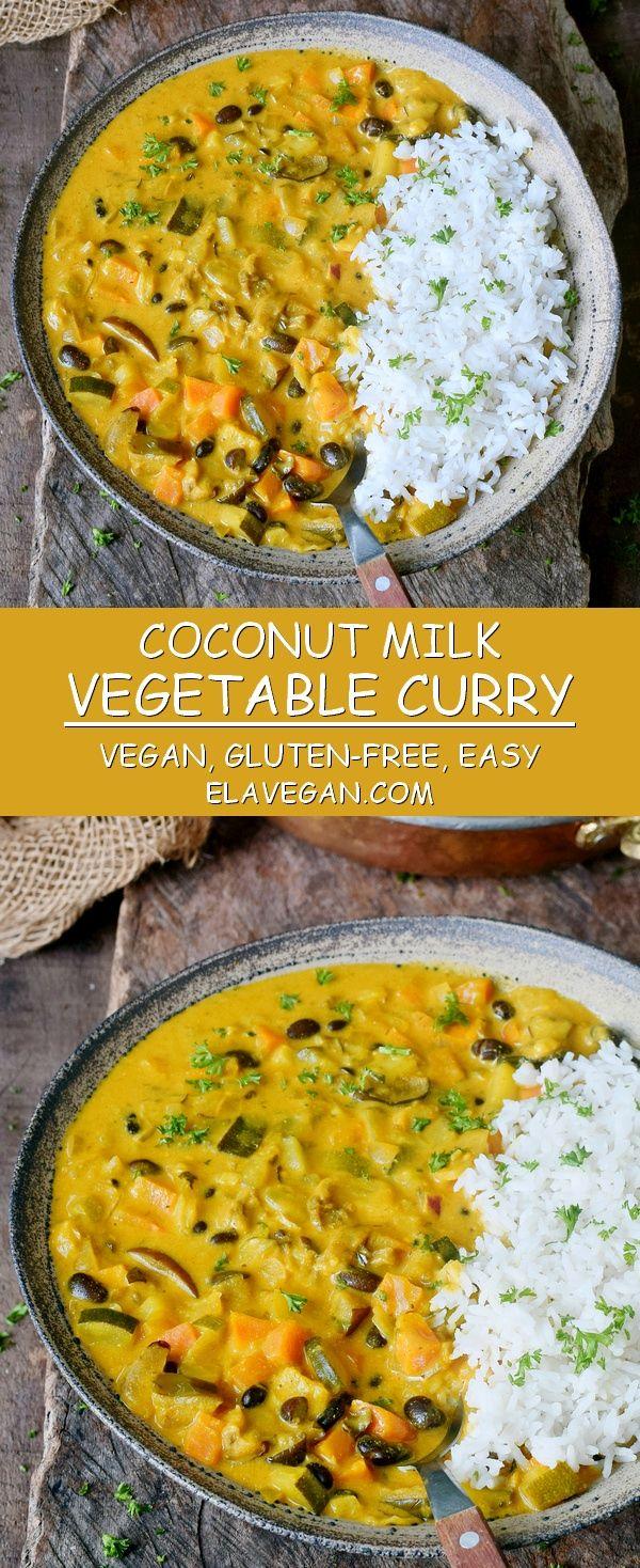 Vegetable Curry Recipe Vegan Gluten Free Vegetable Curry Recipes Vegetable Curry Curry Recipes