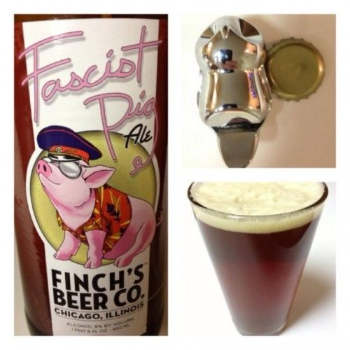Finch's Beer Company  Fascist Pig (Review)