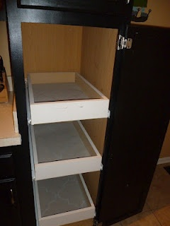 DIY pull out drawers