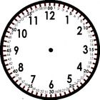 Free Template!  Here is a clock I created to show kids the minutes and the hours very explicitly and my first graders can tell time to the MINUTE!  Yes!  It is eas...