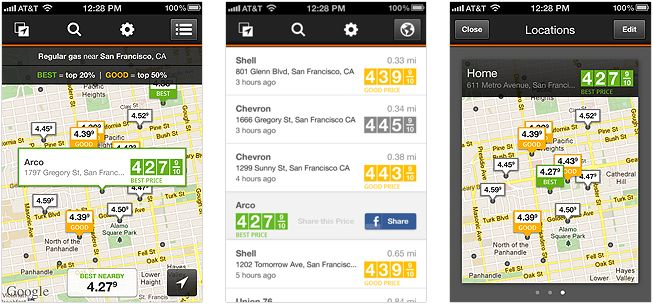 Gas Guru helps you find cheap gas prices-- quickly and easily!