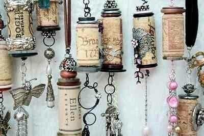 décoration, bouchon, bouteille, recycler, inspiration, décor, objet, beau, utile, maison, liège, plastique, dessous de plat, couronne, tableau, message, meuble, réalisation