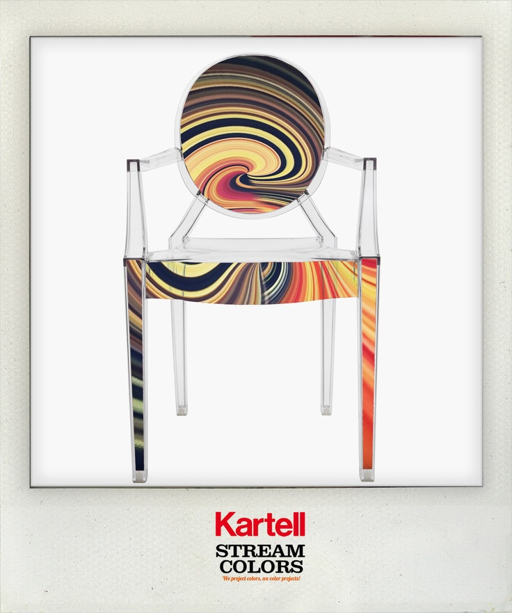 Louis Ghost and Me: 1 Photo contest to celebrate the 10th anniversary of the iconic seat designed by Philippe Starck for Kartell.