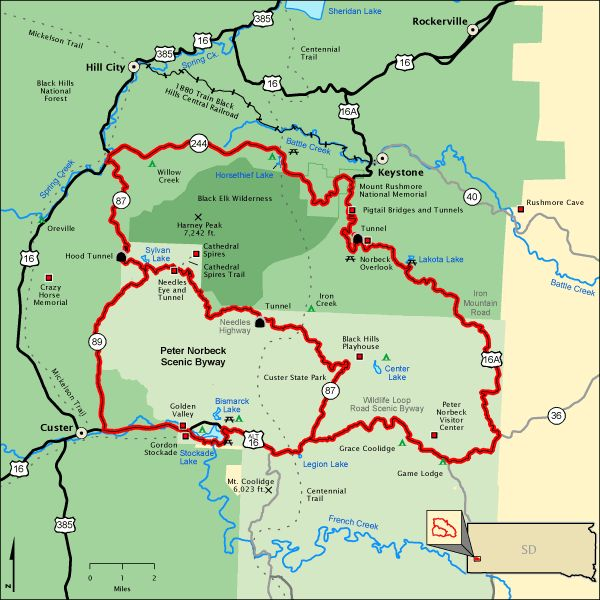 Best Montana Trip South Dakota Images On Pinterest South - South dakota in usa map