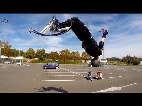 Échasses Urbaines / Jumping stilts / Powerbocking : Street freestyle & F...