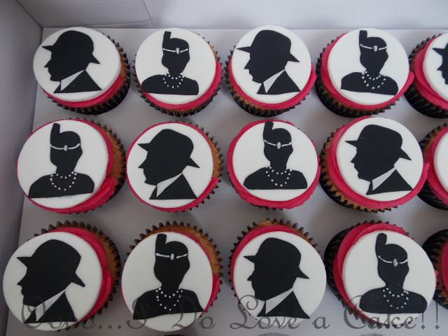 Gangster And Flapper 1920 S Cupcakes 1920s Party