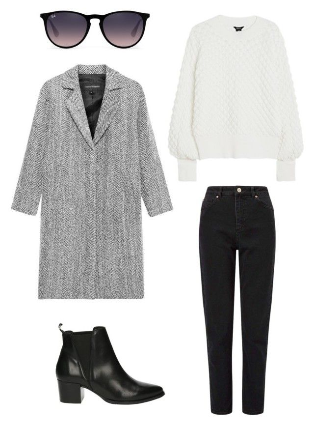 """""""Untitled #234"""" by stinasolheim on Polyvore featuring Privé, Miss Selfridge and Ray-Ban"""