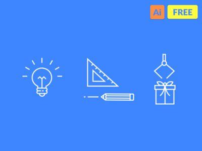 Free Icons (Idea, Creative, Selective)