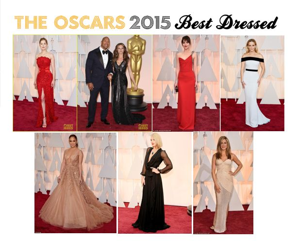 Beautifully Smart: The Oscars 2015 - My Best Dressed