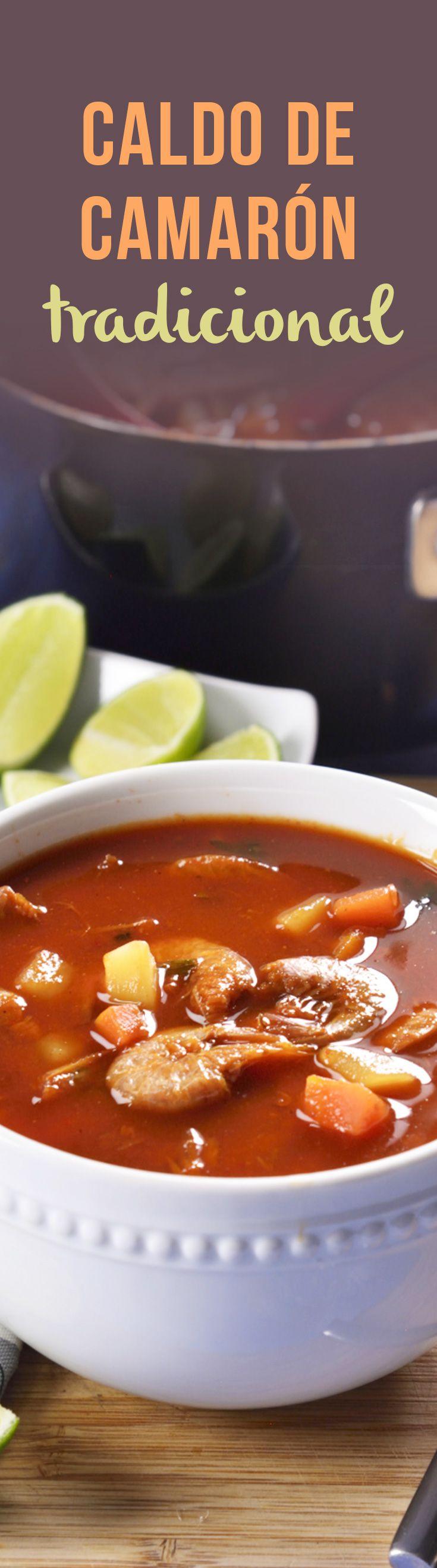 El caldo de camarón es una preparación deliciosa, en nuestro país es una sopa con camarón muy popular. Funciona como un plato fuerte o como una entrada para una rica comida. El caldo de camarón es picosito y delicioso.