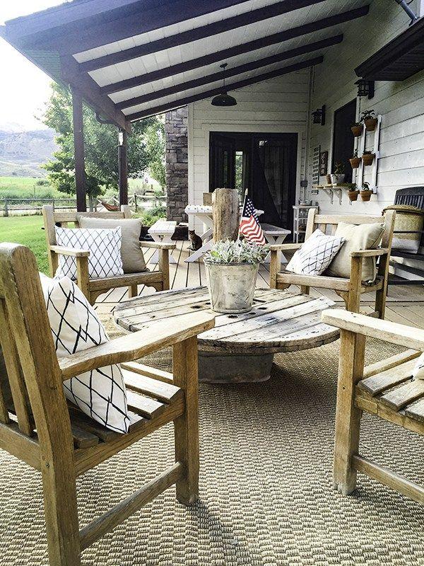 Best 25+ Farmhouse outdoor furniture ideas on Pinterest ...