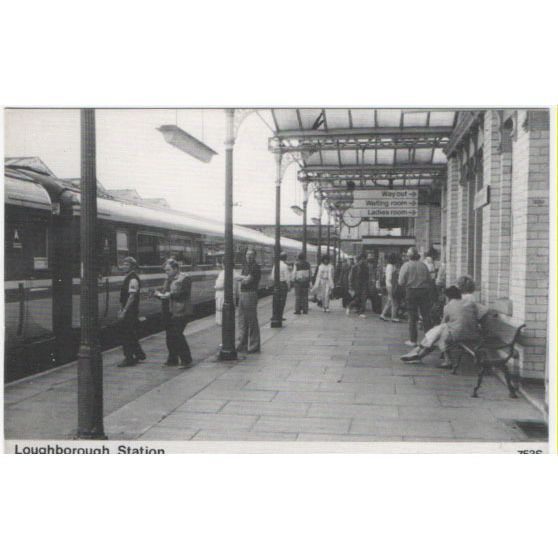 J/V Series Postcard Loughborough Station 753s Listing in the Rail,Transportation,Postcards,Collectables Category on eBid United Kingdom   142726650