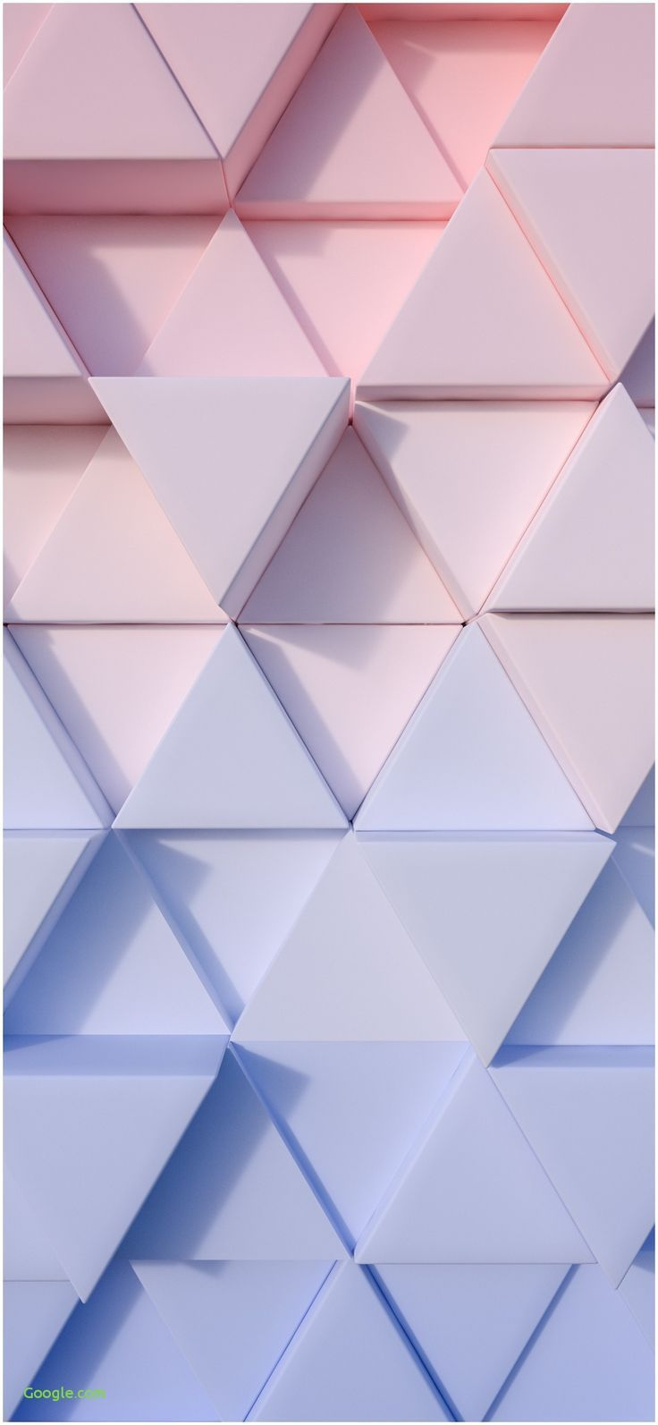all-images.net / … iphone wallpaper 4k Unique 1125 × 2436 triangle pastel