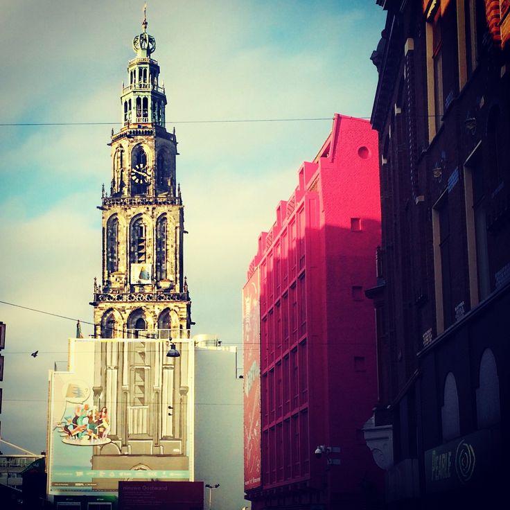 Martinitoren, Martinikerkhof, Groningen
