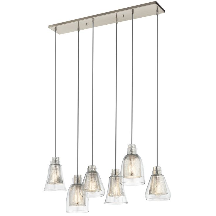 Kitchen Chandelier (1, Table) Evie 6 Light Chandelier